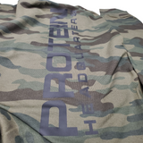 Protein HQ ALL Camo Pull Over Hoodie Unisex