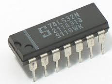 74LS32 - Quad 2-input OR gate