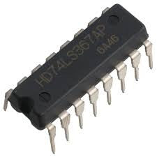 74LS367 Hex buffer with noninverted three-state outputs
