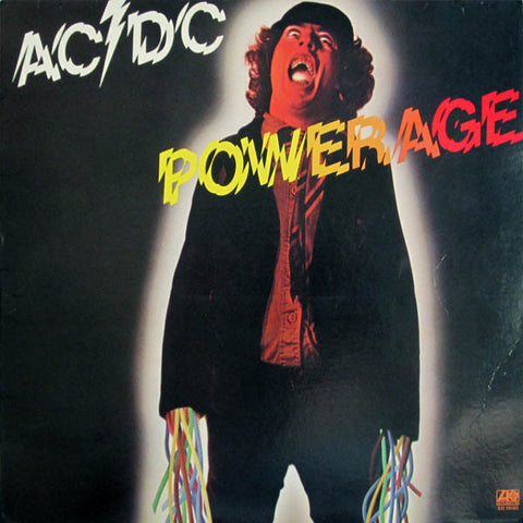 "AC / DC  "" Powerage ""  vinyl album"