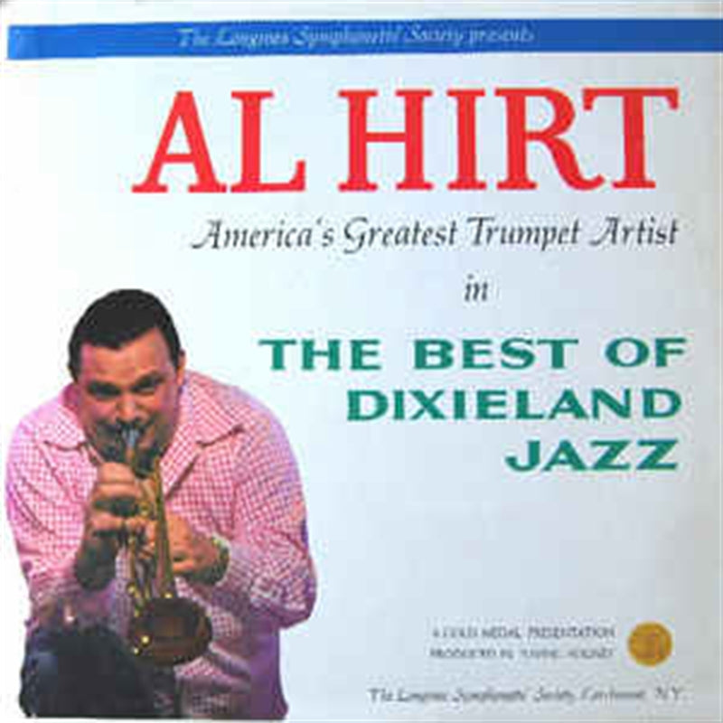 "AL HIRT "" The Best of Dixieland Jazz"" vinyl album"