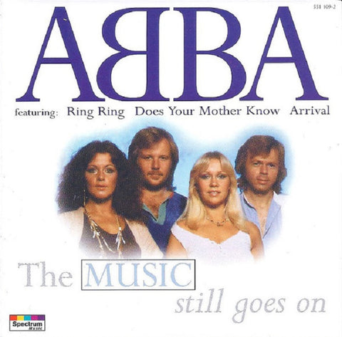 ABBA  The Music  Still Goes On  - new CD