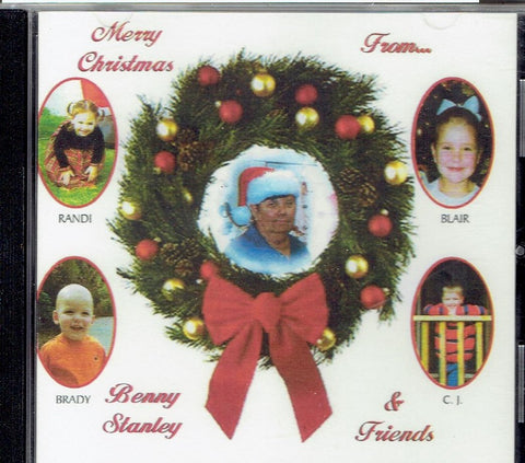 "BENNY STANLEY "" Merry Christmas from Benny Stanley & Friends' CD"