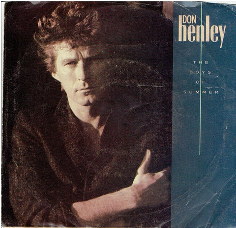 "DON HENLEY "" The Boys of Summer / A Month of Sundays ""  45 picture sleeve"