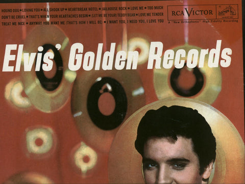 Elvis Presley - Golden Records CD