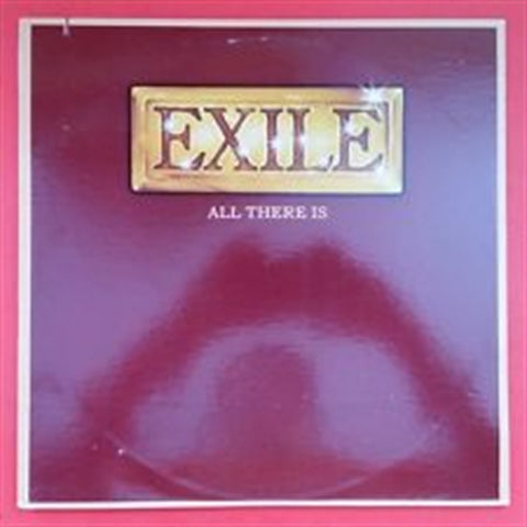 "EXILE -""All There Is""  vinyl album"