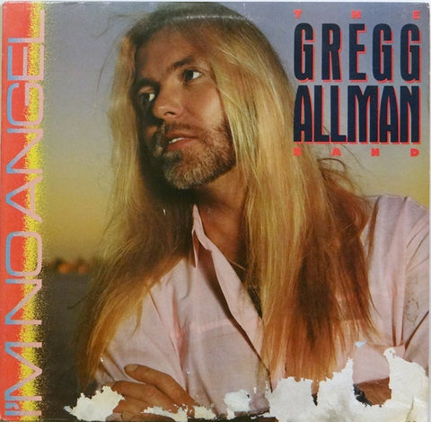 "GREG ALLMAN "" I'm No Angel "" Vinyl Album"