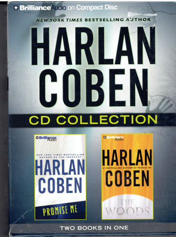 "HARLAN COBE - 2 Books "" Promise Me""- ""The Wood"""