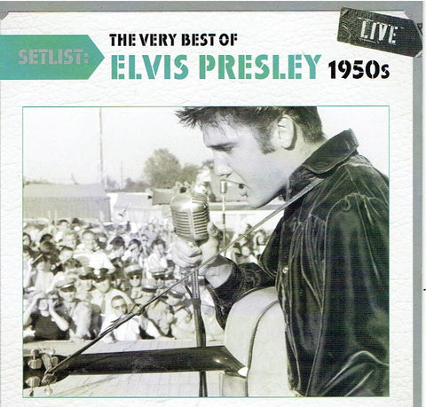 Elvis Presley - The Very Best of Elvis 1950's Live