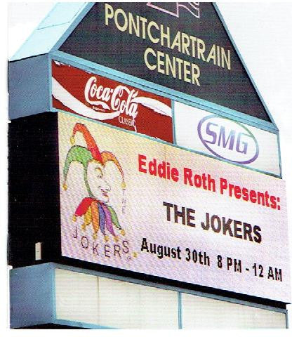 "JOKERS BAND,The "" Live @ PONTCHARTRAIN CENTER"" N.O.La"