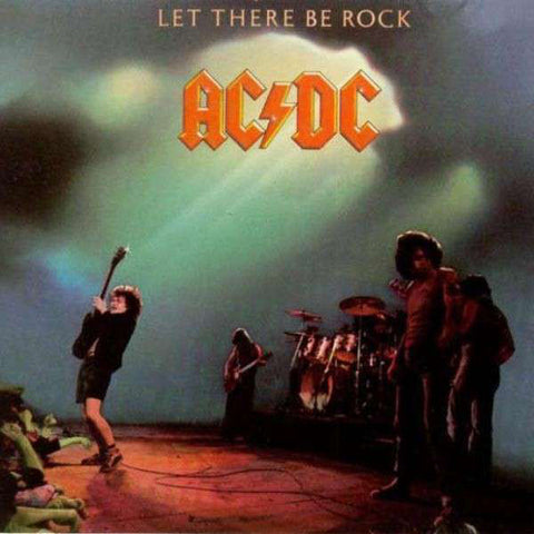 "AC / DC "" Let There Be Rock ""  vinyl album"