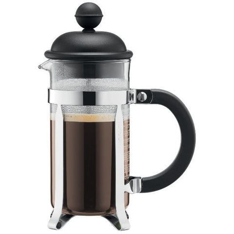 BODUM Cafetière à piston ''French Press'' 8 Tasses Noire - Caffetiera