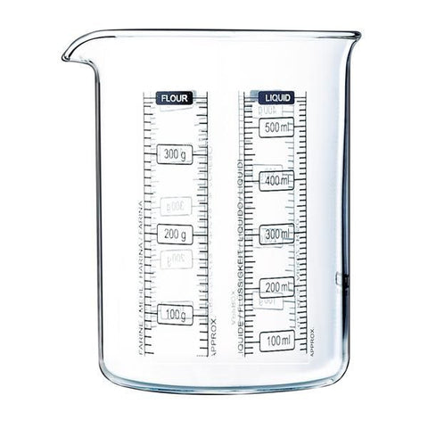 PYREX Verre doseur 0.5 L - Kitchen Lab
