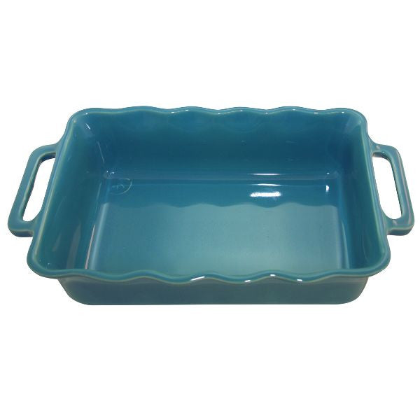 APPOLIA Plat rectangle 37.5 cm Curaçao - Délices