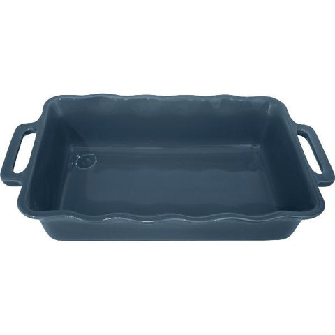 APPOLIA Plat rectangle 34 cm Bleu Océan - Délices