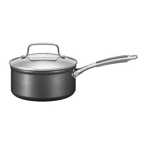 KITCHENAID Casserole 16 cm avec couvercle - Hard Anodised