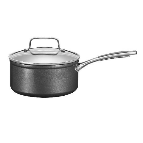 KITCHENAID Casserole 18 cm avec couvercle - Hard Anodised