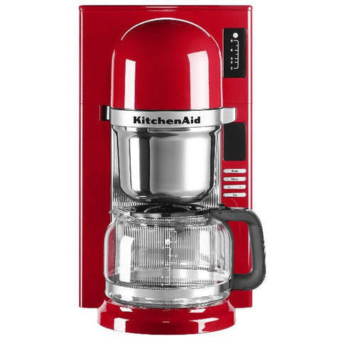 KITCHENAID Cafetière filtre 8 tasses Rouge Empire