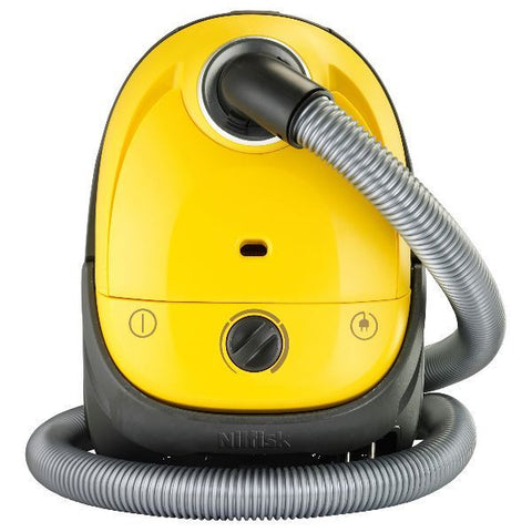 NILFISK Aspirateur avec sac compact - One Yellow - ONEYELLOW