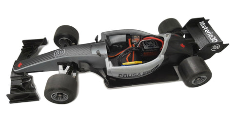 Picture of Open F1 RC car printed with Materio3D PLA by Mike Poole