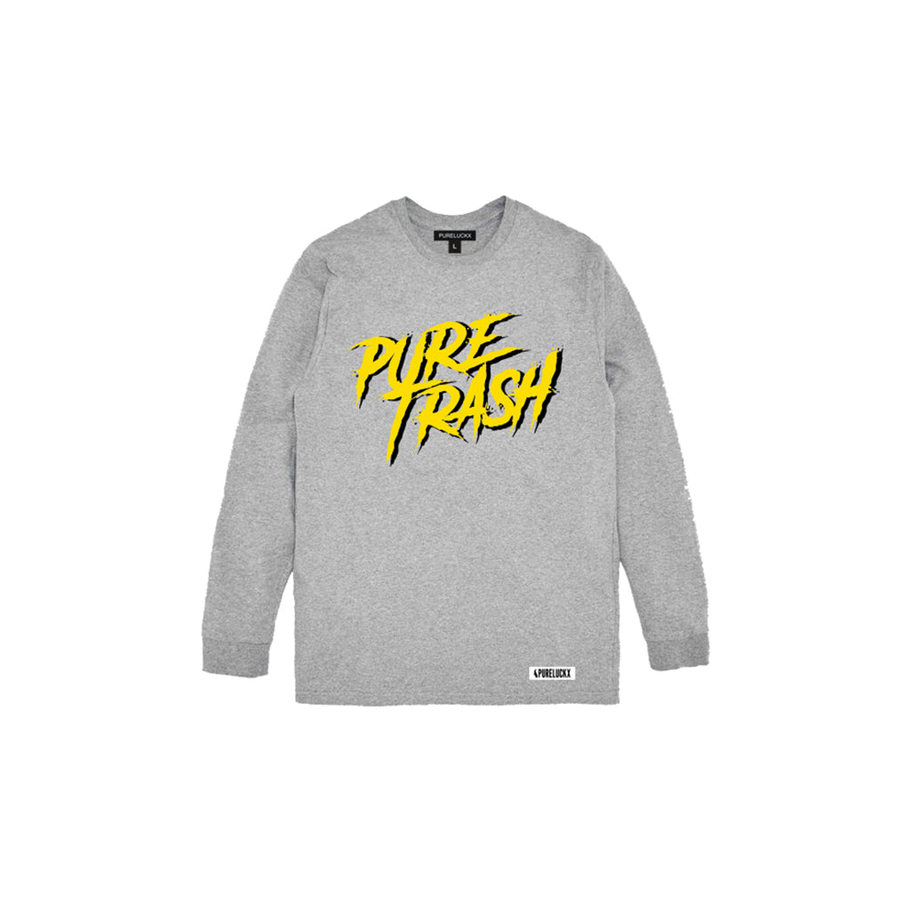 PURE TRASH LONG SLEEVE [GREY]