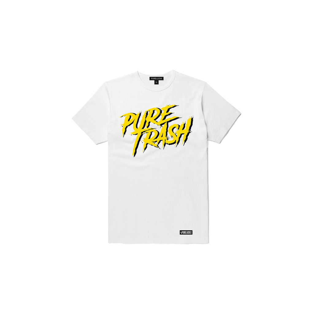 PURE TRASH TEE [WHITE]