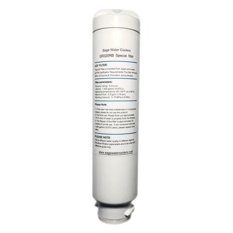 Sage Water Coolers SAGECLFILTER Sage Classic Replacement Water Filters - Sage Water Coolers