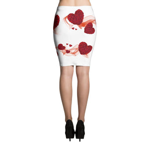 Tell it To My Heart Pencil Skirt