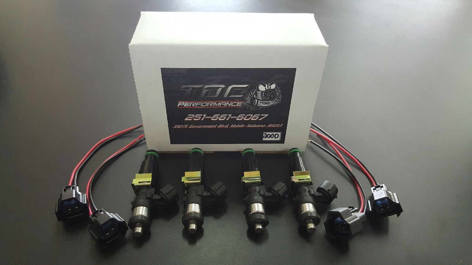 Bosch 2200cc Injectors by TDC