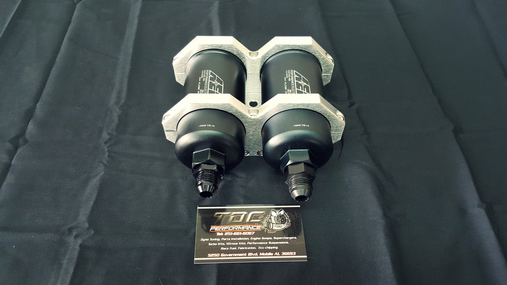 AEM Twin pump kit