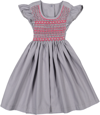 Vestido Boho Cinza - Boho Grey Dress