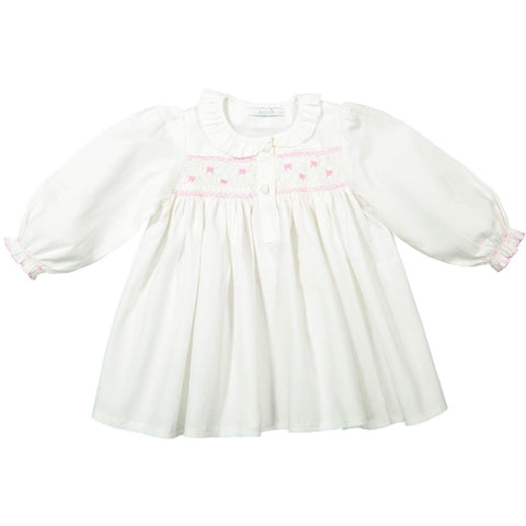 Camisa de Dormir Bloom'In com Laços Bordados - Bloom'In Nightgown with Handembroided Bows
