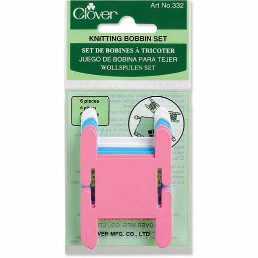CLOVER 332 - Knitting Bobbins - 6 pc. Set Accessories The Wool Queen The Wool Queen