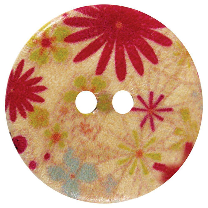 Inspire Buttons 20 mm / Hawaii (4 per card) Accessories HA Kidd The Wool Queen