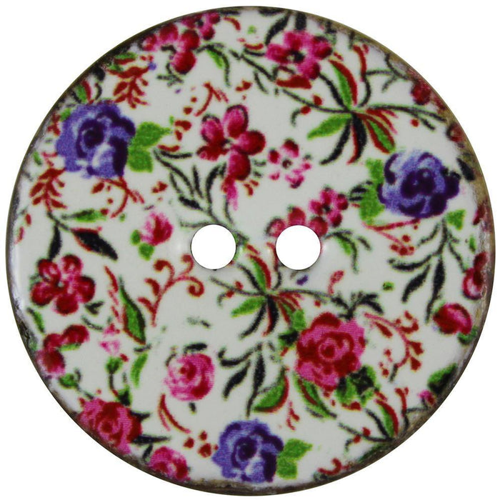 Inspire Buttons 34 mm / Florals (2 per card) Accessories HA Kidd The Wool Queen