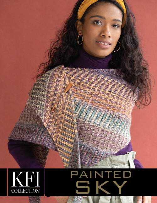 Painted Sky Aurora Wrap Kit The Wool Queen The Wool Queen
