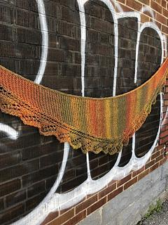 Drums of Autumn Shawl Default Title Patterns The Wool Queen The Wool Queen