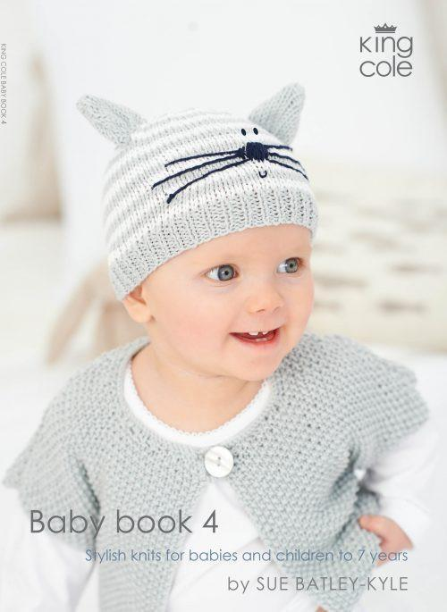 King Cole Baby Book 4 Default Title Patterns King Cole The Wool Queen