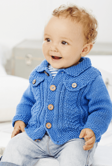 King Cole Baby Book 8 Patterns King Cole The Wool Queen 5015214877695