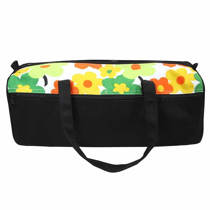 VIVACE Knitting Bag Black Floral The Wool Queen The Wool Queen 060154114220