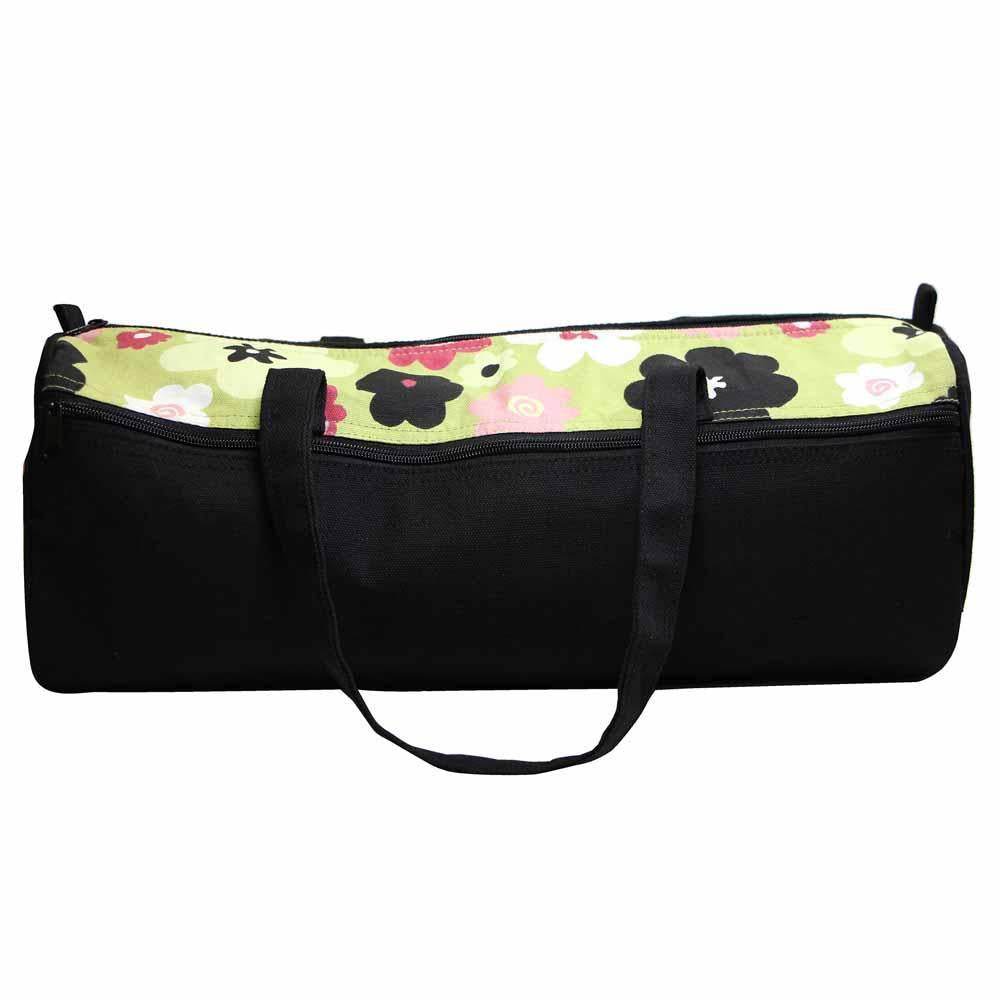 VIVACE Knitting Bag Black with Green The Wool Queen The Wool Queen 060154095642