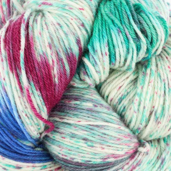 Huasco Sock Hand Painted by Araucania Yarns 1015 Costa Verde Yarn Araucania Yarns The Wool Queen 841275137486