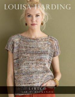 Lirico by Louisa Harding Mackenzie Tee (PDF Pattern ONLY) Yarn Louisa Harding The Wool Queen