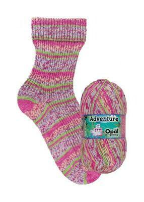 Opal Adventure *NEW* 9820 Continent Leap Yarn Opal The Wool Queen 4032617017955