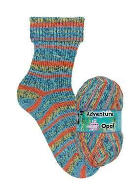 Opal Adventure *NEW* 9824 Cloud Juggling Yarn Opal The Wool Queen 4032617017993