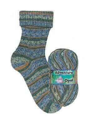Opal Adventure *NEW* 9825 Moving Mountain Yarn Opal The Wool Queen 4032617018006
