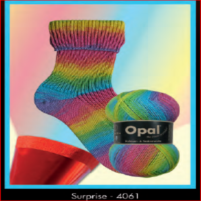 Opal Sock Yarn 4061 Tie-Dye Yarn Opal The Wool Queen