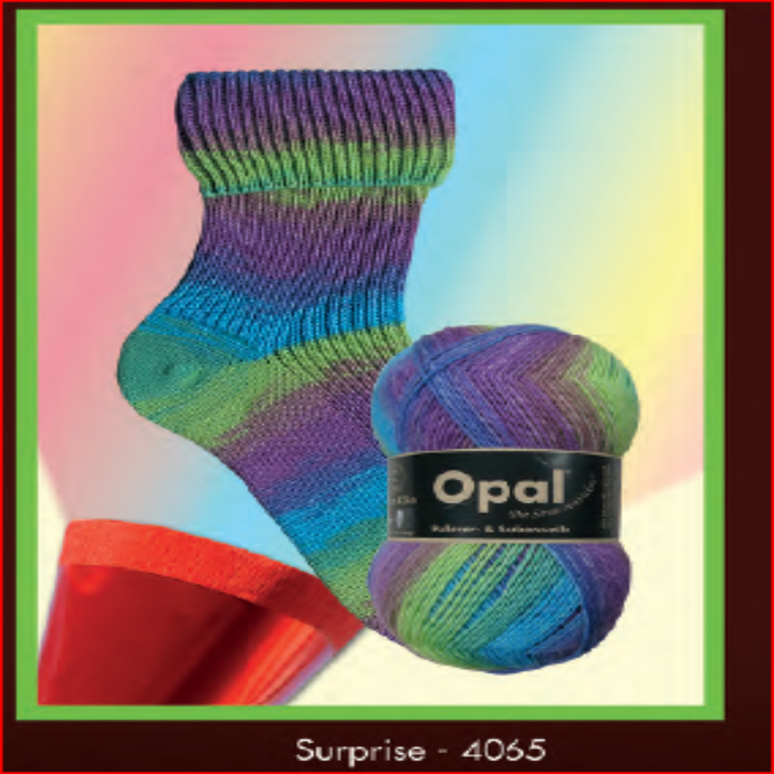 Opal Sock Yarn 4065 Tie-Dye Yarn Opal The Wool Queen
