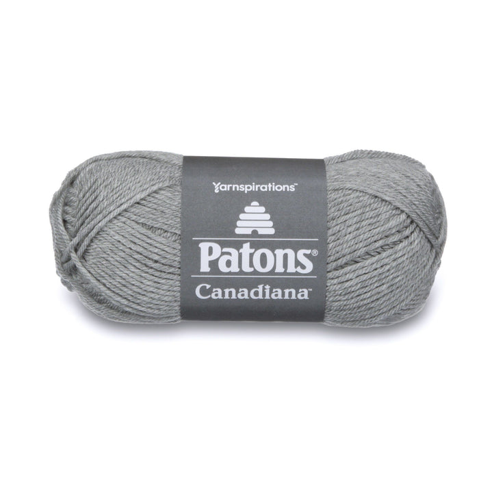 Patons Canadiana Pale Grey Mix 10046 1 Yarn Patons The Wool Queen 057355334380