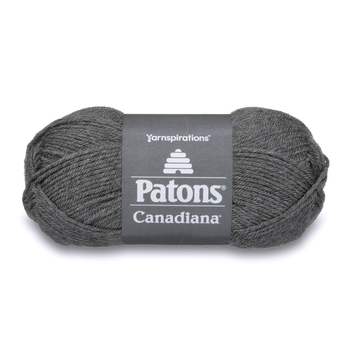 Patons Canadiana Pale Medium Gray Mix 10044 1 Yarn Patons The Wool Queen 057355334373